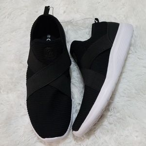 267bec4d8263 1. 2. Champion · Champion Black Cushion Fit Slip On Sneakers